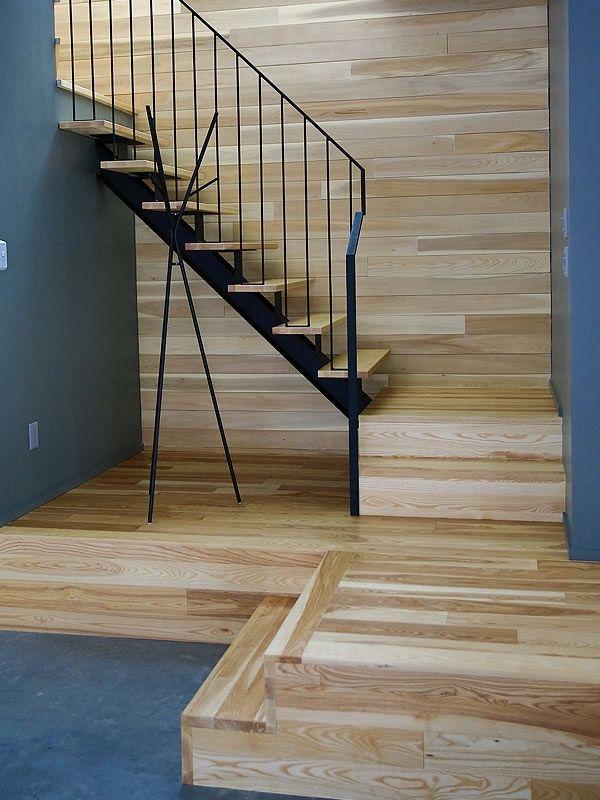 1000 id es sur le th me escalier en bois franc sur. Black Bedroom Furniture Sets. Home Design Ideas