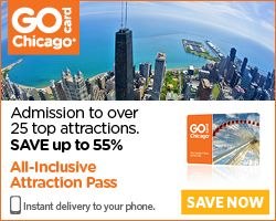 Go Chicago Card – Save up to 55% on over 25 Top Chicago Attractions
