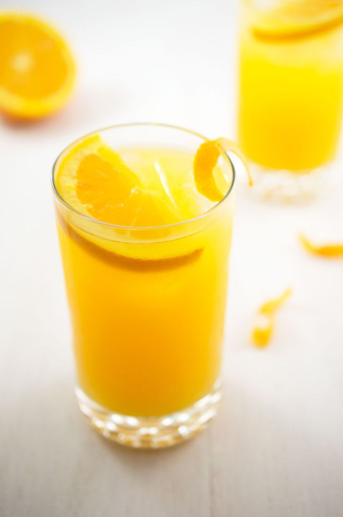 Skinny Orange Crush Cocktail