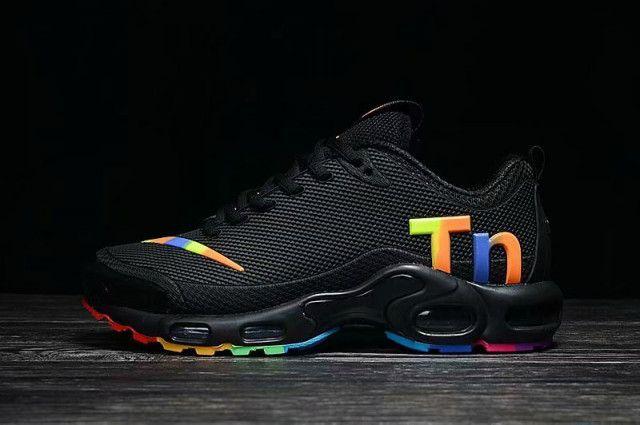 Dazzling Nike Mercurial TN KPU Black Multi-Color Women's Men's ...
