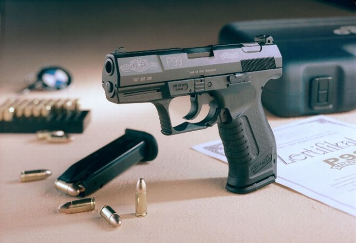 Walther P99 James Bond 007 Limited Edition model, version 2