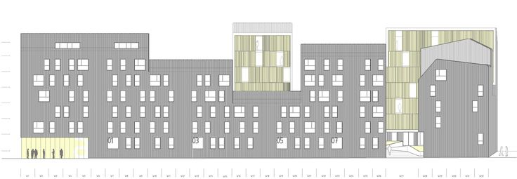 Gallery of Vivazz, Mieres Social Housing / Zigzag Arquitectura - 10