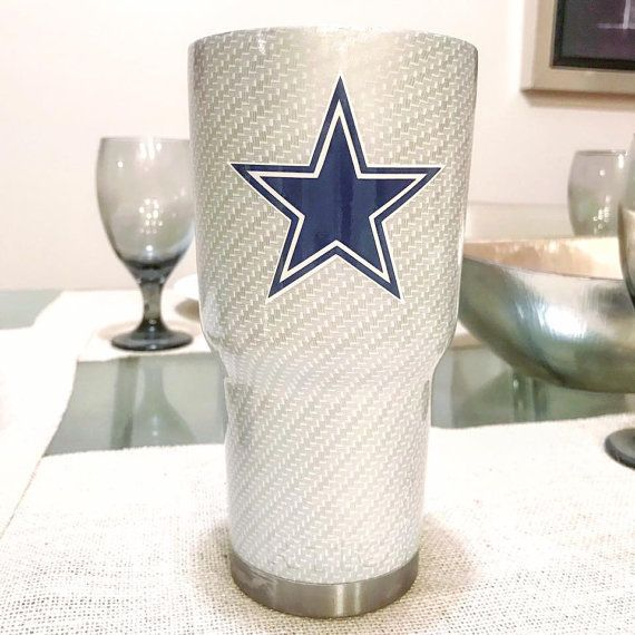 The Cowboys Stainless Steel Tumblers/Cups - YETI/RTIC - LuEls