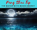 Feng Shui Tip!!!  Yin Water with Moon Energy  During the holiday season it's easy for tempers to flare…we all face certain pressures at this time of year. Here's a solution to help dissolve anger effectively.  Water is an excellent antidote to cool down the atmosphere of anger, especially when you use YIN water.  If you've been quarrelling with your spouse or lover, you can empower the yin water with moon energy by placing an urn of water on your balcony or in your garden on the night of the…