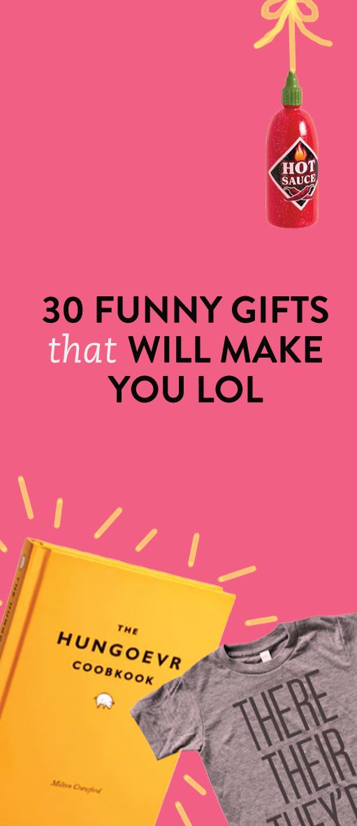 30 Funny Gifts That Will Make You LOL