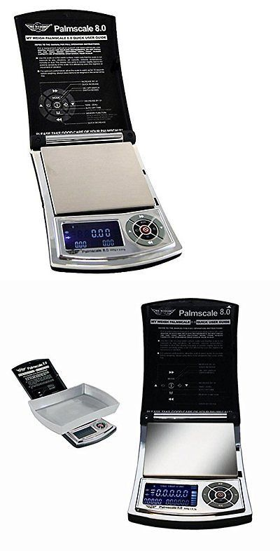 Pocket Digital Scales: Palmscale 8 Digital Precision Scale 800G X 0.1G Capacity...New BUY IT NOW ONLY: $34.88
