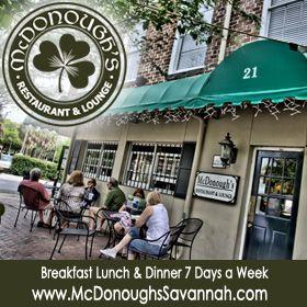 Where to Eat Savannah, Savannah GA Restaurants and Dining Guide