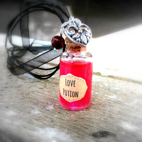 Glass Bottle Love Potion
