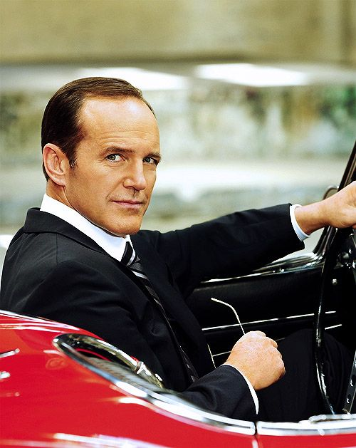 So are we just not going to talk about the fact that Phil Coulson has a flying car or...