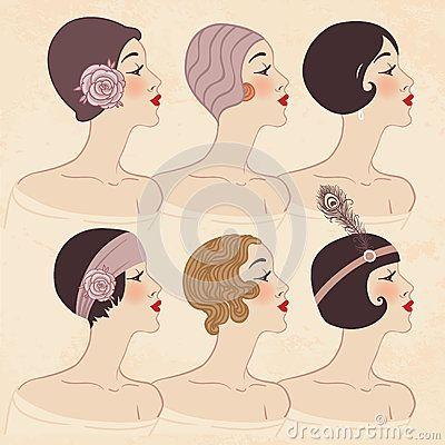 Peinado, tocado y maquillaje de los años 20