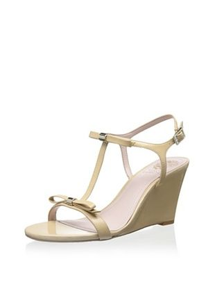 44% OFF Vince Camuto Women's Hattel Bow Wedge Sandal (Petal)