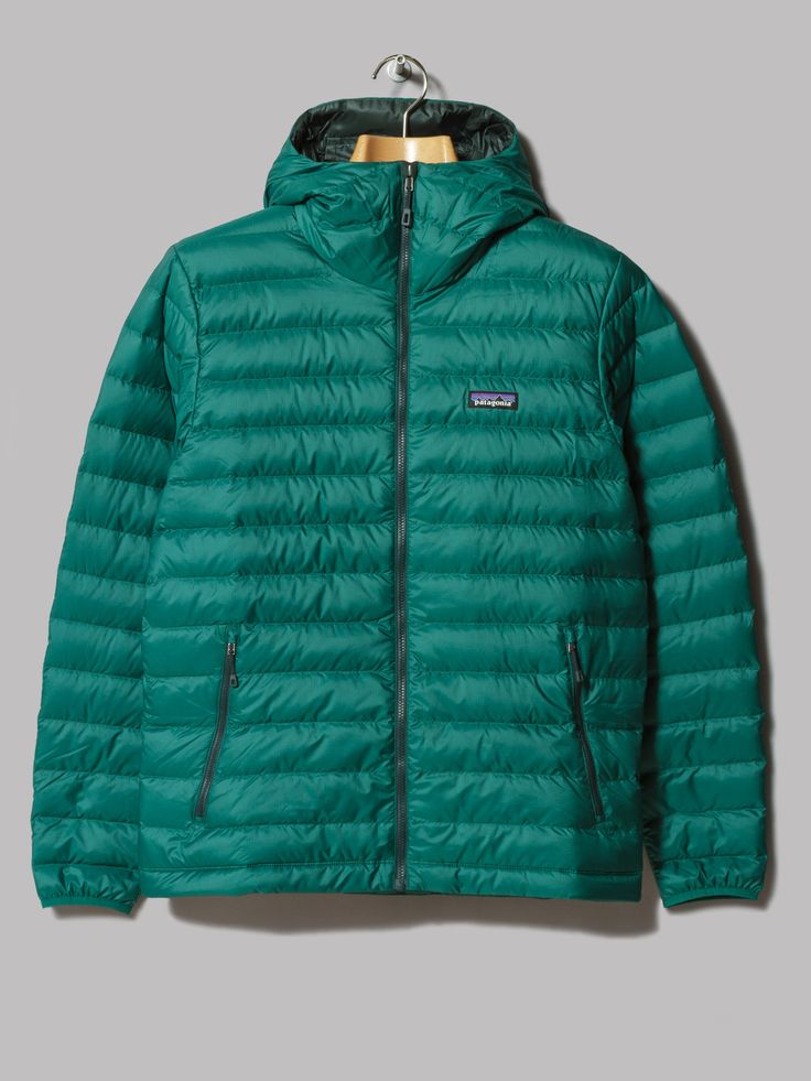 Patagonia Down Sweater Hoody (Legend Green)