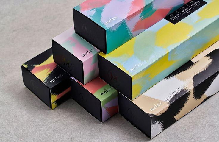 Melez Tea Packaging by Atelier Nese Nogay http://mindsparklemag.com/design/melez-tea-packaging/