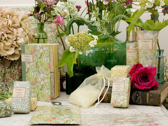 Heathcote & Ivory Ltd, Stand A13, NEW Morris Co Golden Lilly Collection by Heathcote Ivory - main