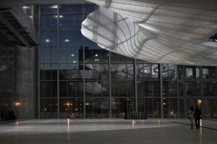 """La """"Nuvola"""", Centro Congressi all'Eur, Roma - progetto Massimiliano Fuksas, ph…"""