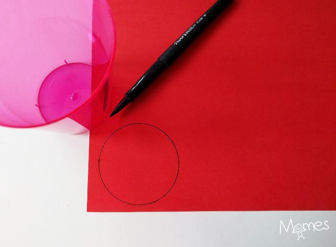 Une jolie coccinelle en volume avec quelques bouts de papier. Une façon rigolote de travailler découpage et pliage tout en fêtant le printemps.