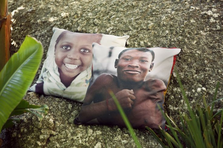 African Kids - Gates of Heaven Cushions