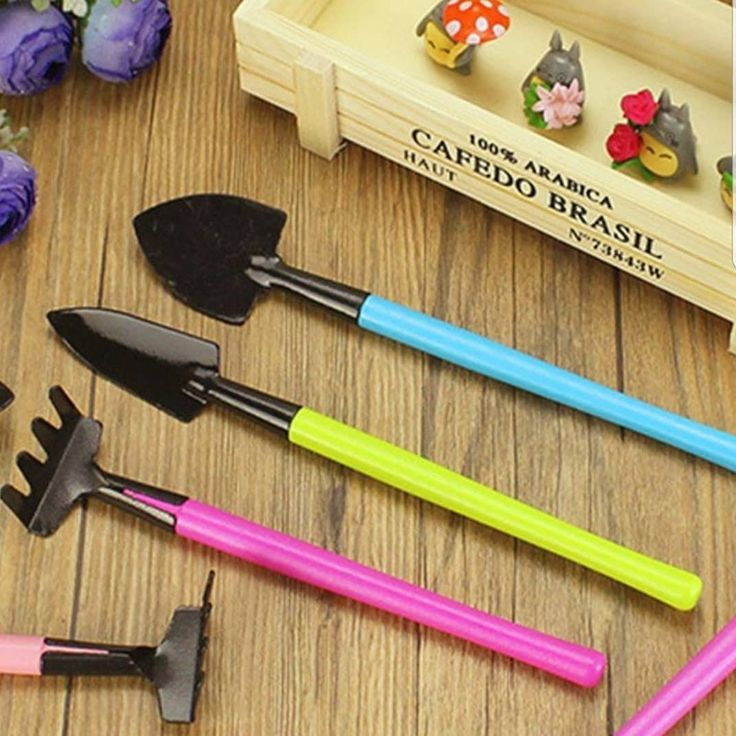 3pc Color Mini Gardening Tools Garden Accessories Tools For Home