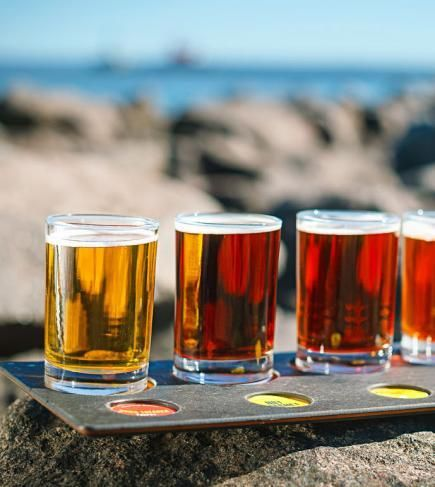 Canal Park Brewing Company in Duluth, Minnesota, one of our picks for best new Midwest places to eat, play or stay. More: http://www.midwestliving.com/travel/around-the-region/best-new-midwest-attractions-restaurants-and-hotels/