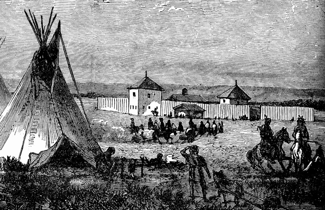 A Dutch West India Company's Trading Post