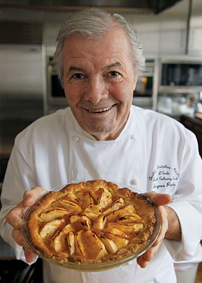Jacques Pépin's Apple Tart.  One of my favorite chefs of all time.