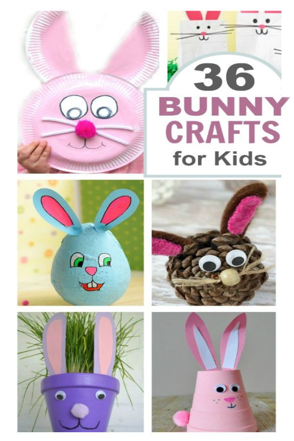 Easter Bunny Crafts Pinterest Todoityourself Com