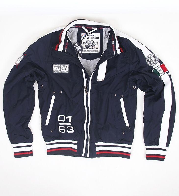 Camp David Polo Herren Jacke Limited series Jacket Club Italia Dark