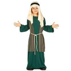 Disfraz San José – Pastor Infantil color azul.  En Mercadisfraces, podrás comprar tus disfraces baratos para Navidad.
