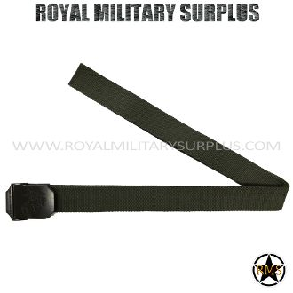 "Belt - US Marine Corps Emblema - OD GREEN (Olive Drab) - 13,95$ (CAD) - OD GREEN (Olive Drab) US Marine Corps Service & Duty Design USMC Standard Military Specifications NSN 8465-01-322-1996 100% High-Density Nylon Material Metal Buckle (USMC Engraved Emblema) Precise & Solid for All Sizes ALICE & MOLLE System Compatible One Size: 46""x 1.5"" (117 CM x 7 CM) BRAND NEW WWW.ROYALMILITARYSURPLUS.COM"