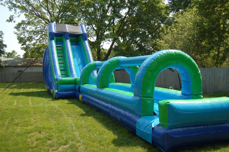 23' Water Slide www.flosinflatables.com