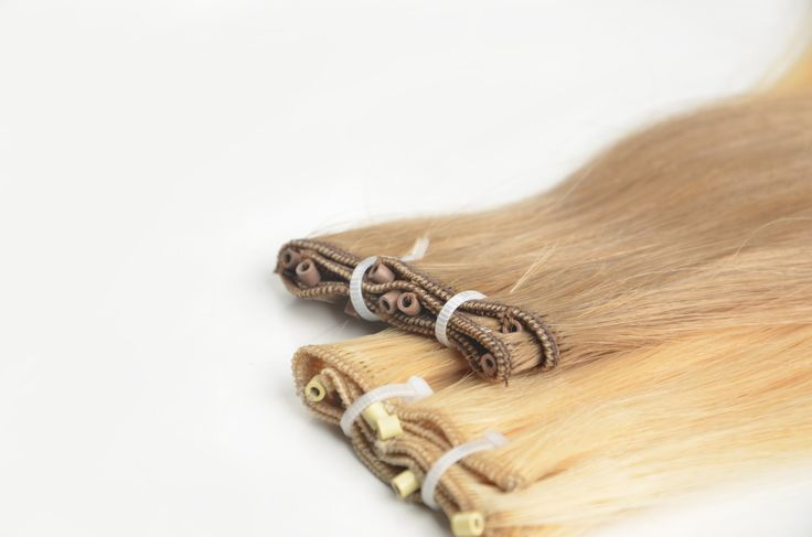 micro bead hair weft hair extension