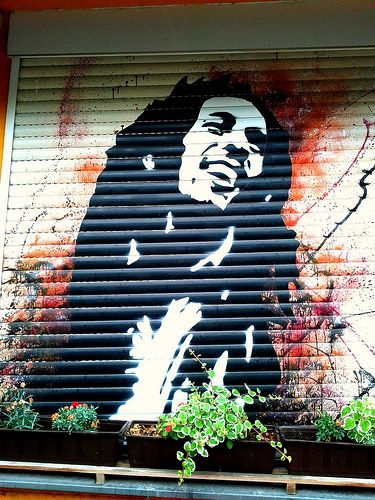 Bob Marley is Everywhere.  Spread #1love.