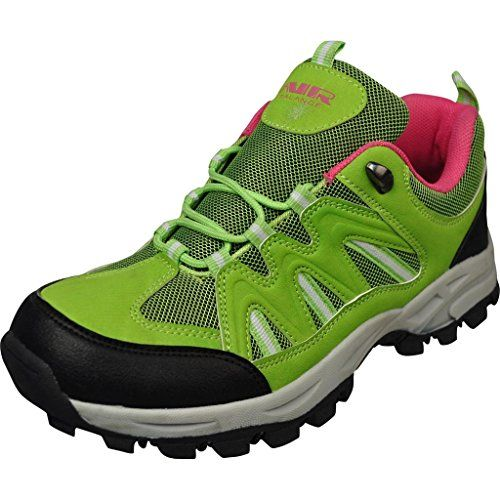 Air Balance Girls Hiking Boots - Lemon/Fuchsia >>> Be sure to check out this awesome product.