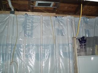 vapor barrier in a nj basement home improvement pinterest