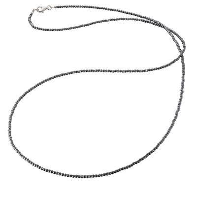 Hematite Beaded 80cm Chain