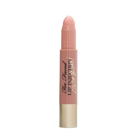Too Faced Lip Injection Color Bomb - 'Never Enough Nude' #beauty #products #makeup