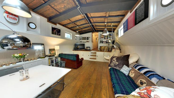 Stylish Dutch Barge Conversion - London