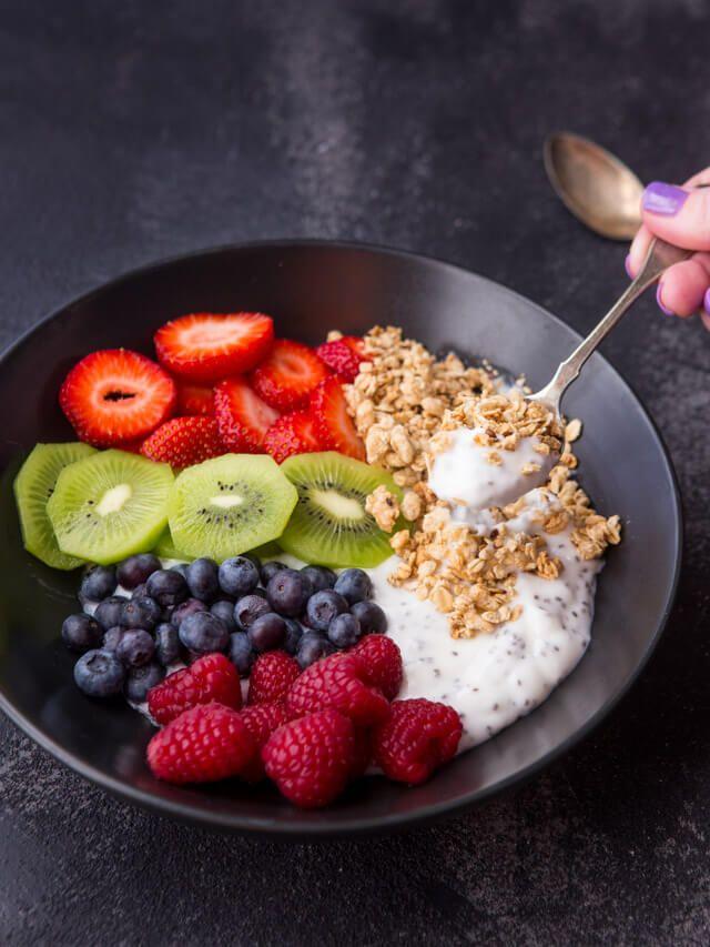 Chia Yogurt Breakfast Bowl