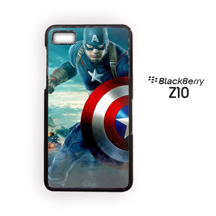 Capt America for Blackberry Z10/Blackberry Q10 Phonecases