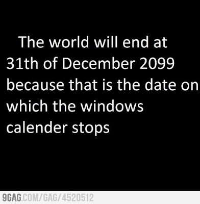 The end of the world.. predicted by Microsoft