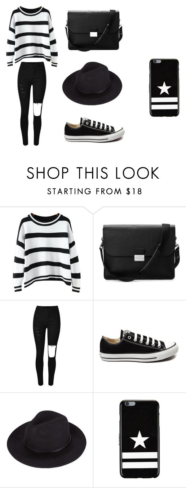 """Untitled #97"" by karenrodriguez-iv on Polyvore featuring Chicnova Fashion, Aspinal of London, Converse, Givenchy, women's clothing, women, female, woman, misses and juniors"