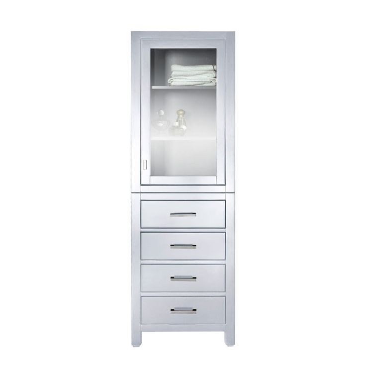 with co white linen cabinet globalstory hamper