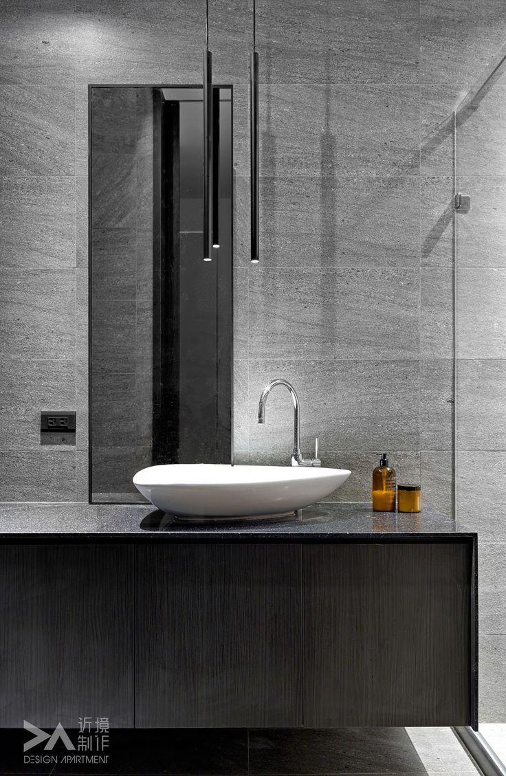 25 Best Ideas About Dark Grey Bathrooms On Pinterest