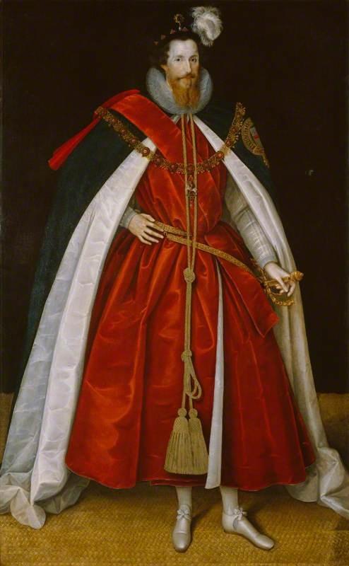 """""""Robert Devereux, 2nd Earl of Essex"""", Marcus Gheeraerts the younger, ca. 1597; NPG 4985"""