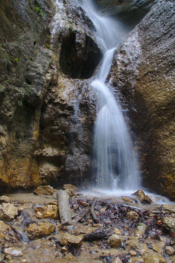 Hlbocký waterfall, Hlbocký Slovakia