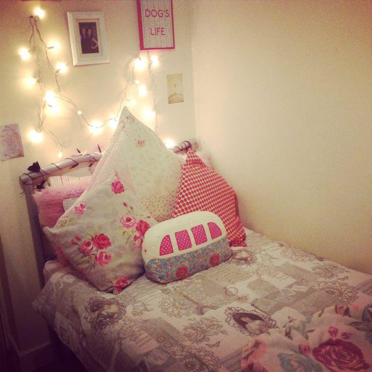 girls bedroom room pinterest string of lights