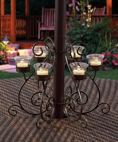 Take a look at this Victorian Umbrella Votive Stand by Patio Party: Entertaining Essentials on #zulily today!