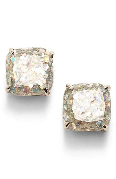 Free shipping and returns on kate spade new york mini small square stud earrings…
