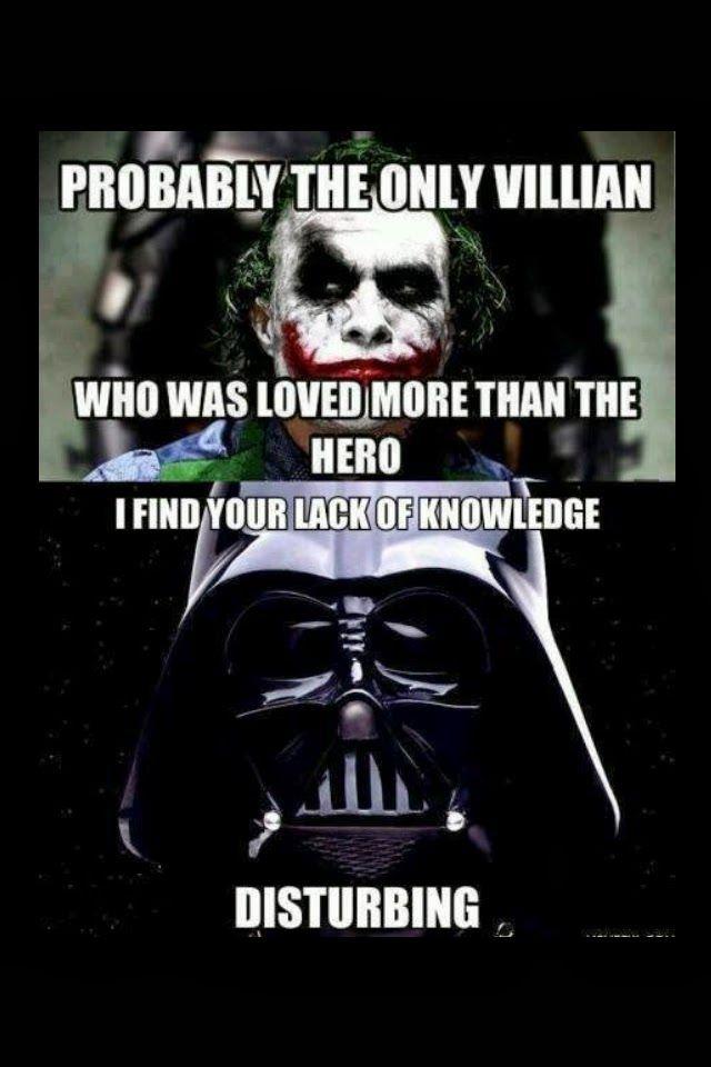 Wallpaper Girl Nerd Joker Vs Darth Vader Darth Vader Star Wars Star Wars