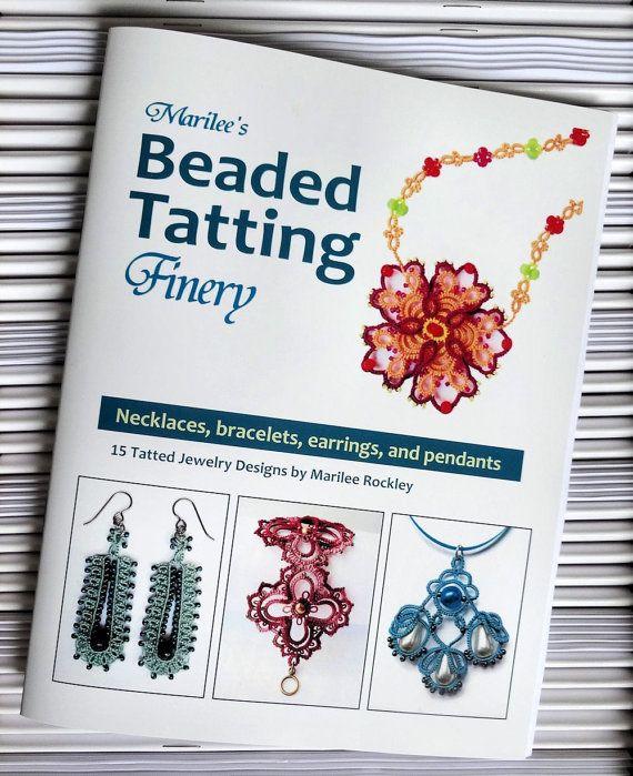 Flughafentransfer-Tatting-Buch Marilees Glasperlen von yarnplayer
